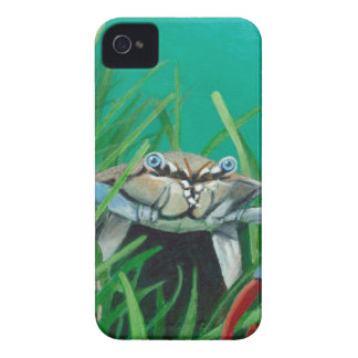 Ahoy There Meet The Under Water Sea Crab iPhone 4 Case-Mate Case