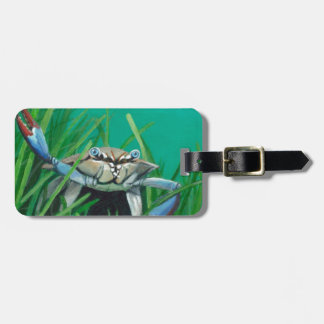 Ahoy There Meet The Under Water Sea Crab Luggage Tag