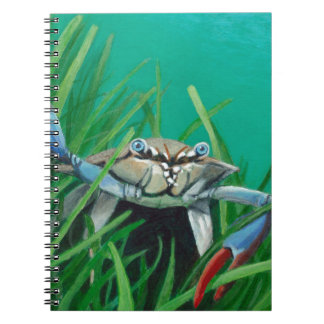 Ahoy There Meet The Under Water Sea Crab Notebooks