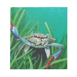 Ahoy There Meet The Under Water Sea Crab Notepad