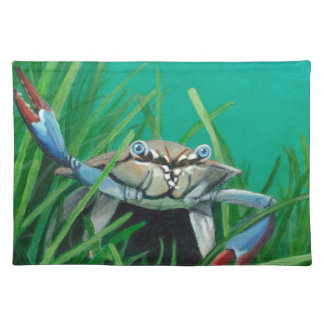 Ahoy There Meet The Under Water Sea Crab Placemat