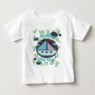 ahoy we go boys t-shirt