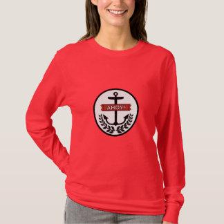 Ahoy - Women's Basic Long Sleeve T-Shirt T-Shirt