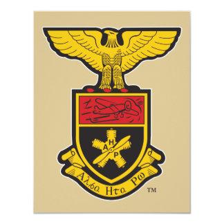 AHP Crest - Color 11 Cm X 14 Cm Invitation Card