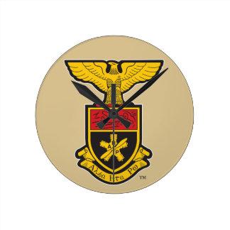 AHP Crest - Color Round Clock