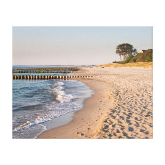 Ahrenshoop Beach Canvas Print