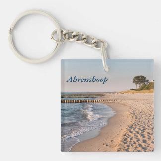 Ahrenshoop Beach Key Ring
