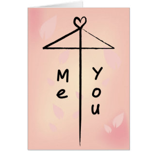 Ai Ai Gasa: Pink Greeting Card