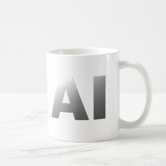 AI artificial intelligence Basic White Mug