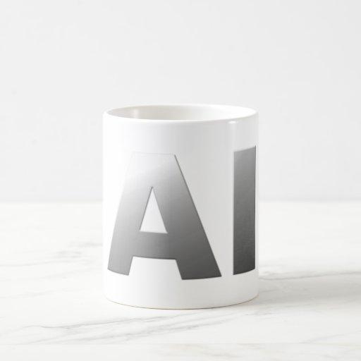 AI artificial intelligence Mugs