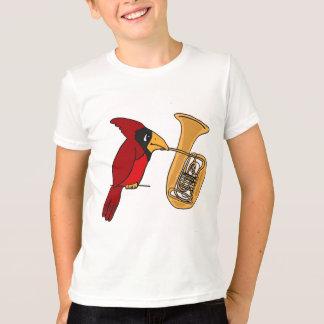 AI- Cardinal Playing the Tuba shirt