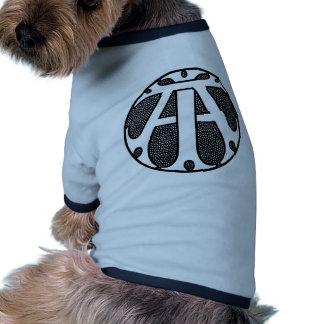 AI Coin Monogram Pet Tee Shirt
