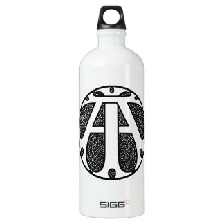 AI Coin Monogram in Gothic Letters SIGG Traveller 1.0L Water Bottle