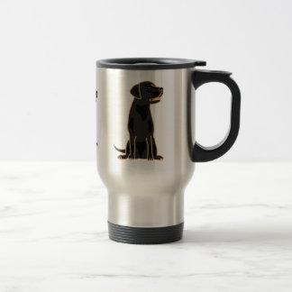 AI- English Labrador Retriever Travel Mug