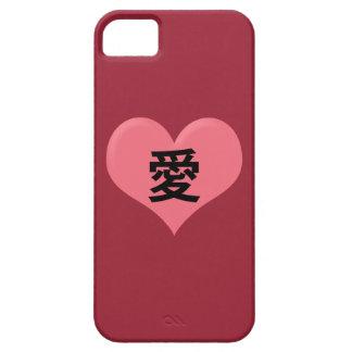 """Ai"" Love Kanji Case iPhone 5 Covers"