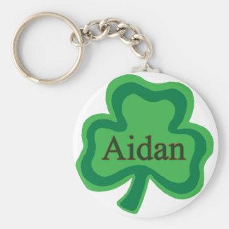 Aidan Irish Name Key Ring