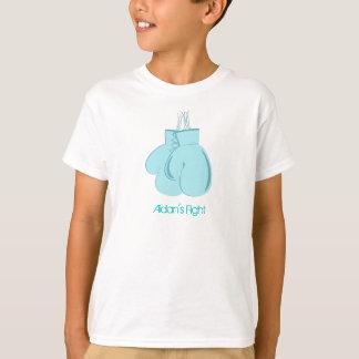 Aidan's Fight kid's shirt