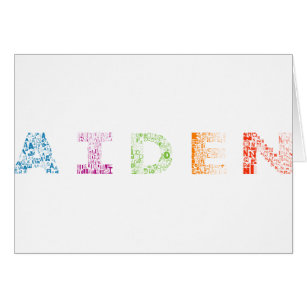 Aiden Letter Name