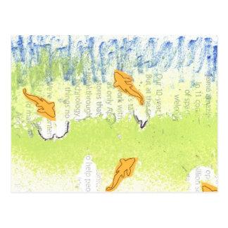 Aiden's Aquatic Birthday Party III Postcard