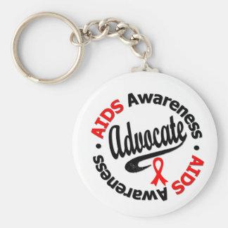 AIDS Advocate Keychains