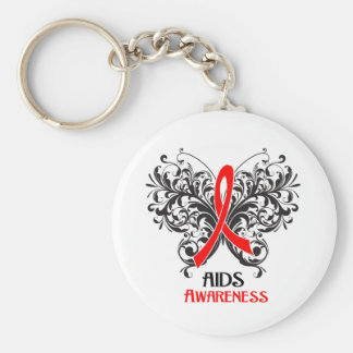 AIDS Awareness Butterfly Keychains