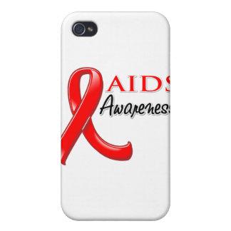 AIDS HIV Awareness Ribbon iPhone 4 Cover