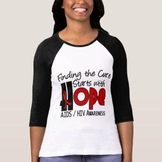 AIDS HIV HOPE 4 T-Shirt