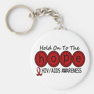 AIDS HIV HOPE 6 KEY CHAIN