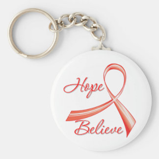 AIDS - Hope Believe Key Chains