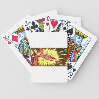 Aie-eee! ka-Blam! Bicycle Playing Cards