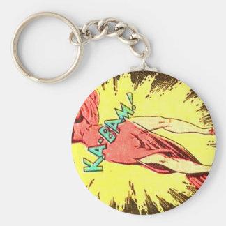 Aie-eee! ka-Blam! Key Ring