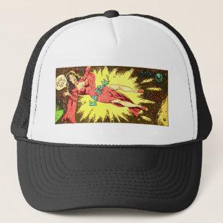 Aie-eee! ka-Blam! Trucker Hat