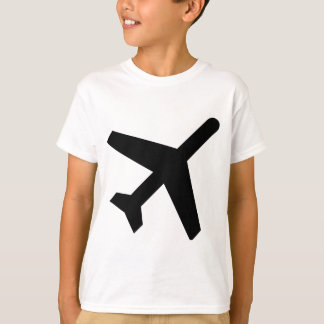 AIGA Departures Sign (Airplane) T-Shirt