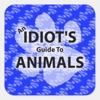 AIGTA Podcast Blue Logo Square Sticker
