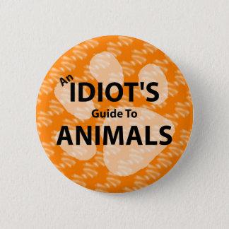 AIGTA Podcast Orange Logo 6 Cm Round Badge