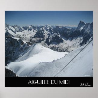 AIGUILLE DU MIDI, 3842m Poster