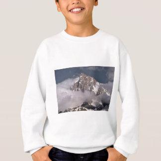 Aiguille du Midi in France Sweatshirt