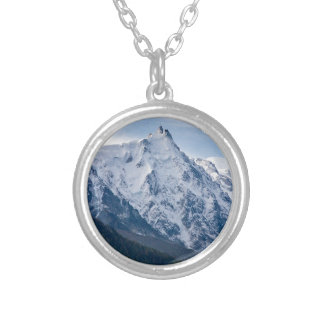 Aiguille du Midi Silver Plated Necklace