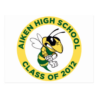 Aiken High Postcard