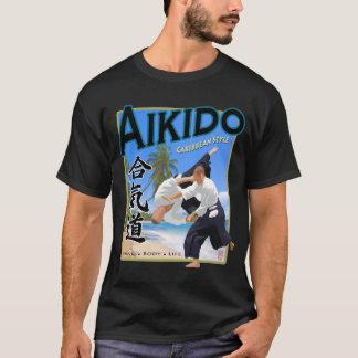 Aikido Caribbean Style Dark Apparel T-Shirt
