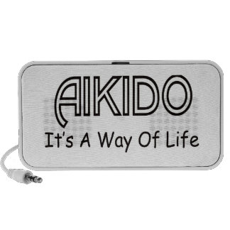 Aikido It s A Way Of Life iPod Speaker