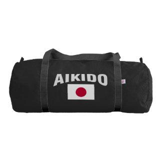 Aikido Japan Japanese Flag Gym Bag