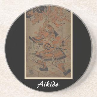 Aikido Japanese Martial Art Coaster