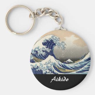 Aikido Japanese Martial Art Key Ring