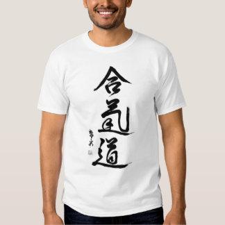 aikido-kanji TSHIRT