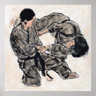 Aikido Sketch 28 Poster