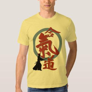 Aikido sword t shirts