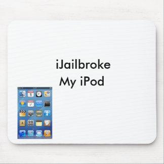 ailbroke ipod_desktop iJailbroke My iPod Mouse Mat