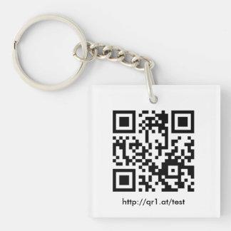 Aileron code key supporter key ring
