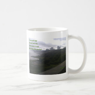 Aim and vow to try coffee mug